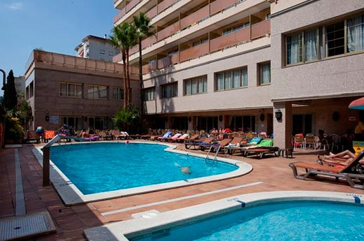 Hotel H-Top Amaika zwembad
