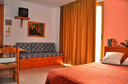 Appartementen Safari slaapkamer